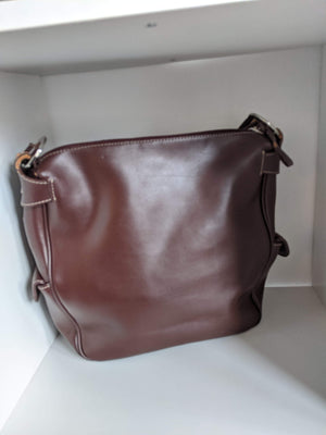 Brown Equipage Paris Leather Bag