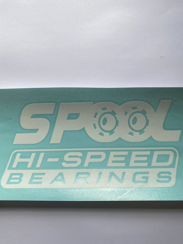 Spool Speed Stickers/ Decals