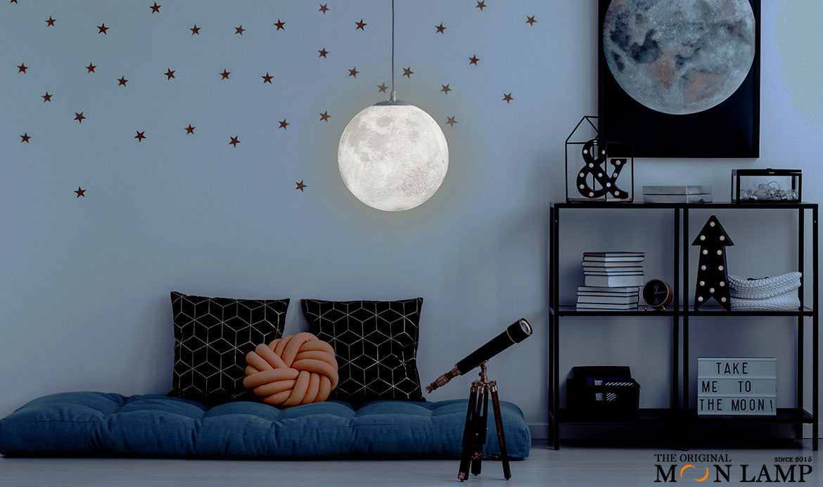 Hanging Moon Lamp