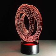 Roller Coaster 3D Illusion Lamp