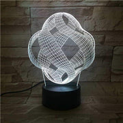 Infinite Loop 3D Illusion Lamp