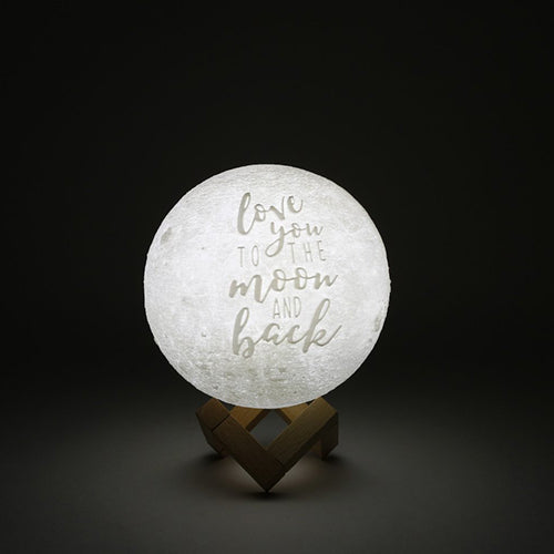 Love You To The Moon And Back Moon Lamp Original Moon