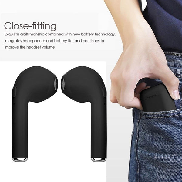 Wireless Bluetooth earphones