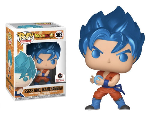 Funko Pop! SSGSS Goku (Kamehameha) #563 - The Need Want