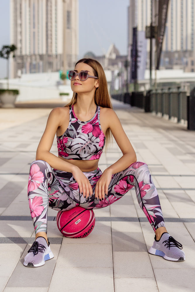 Rainforest Gym Set in Fuchsia Pink