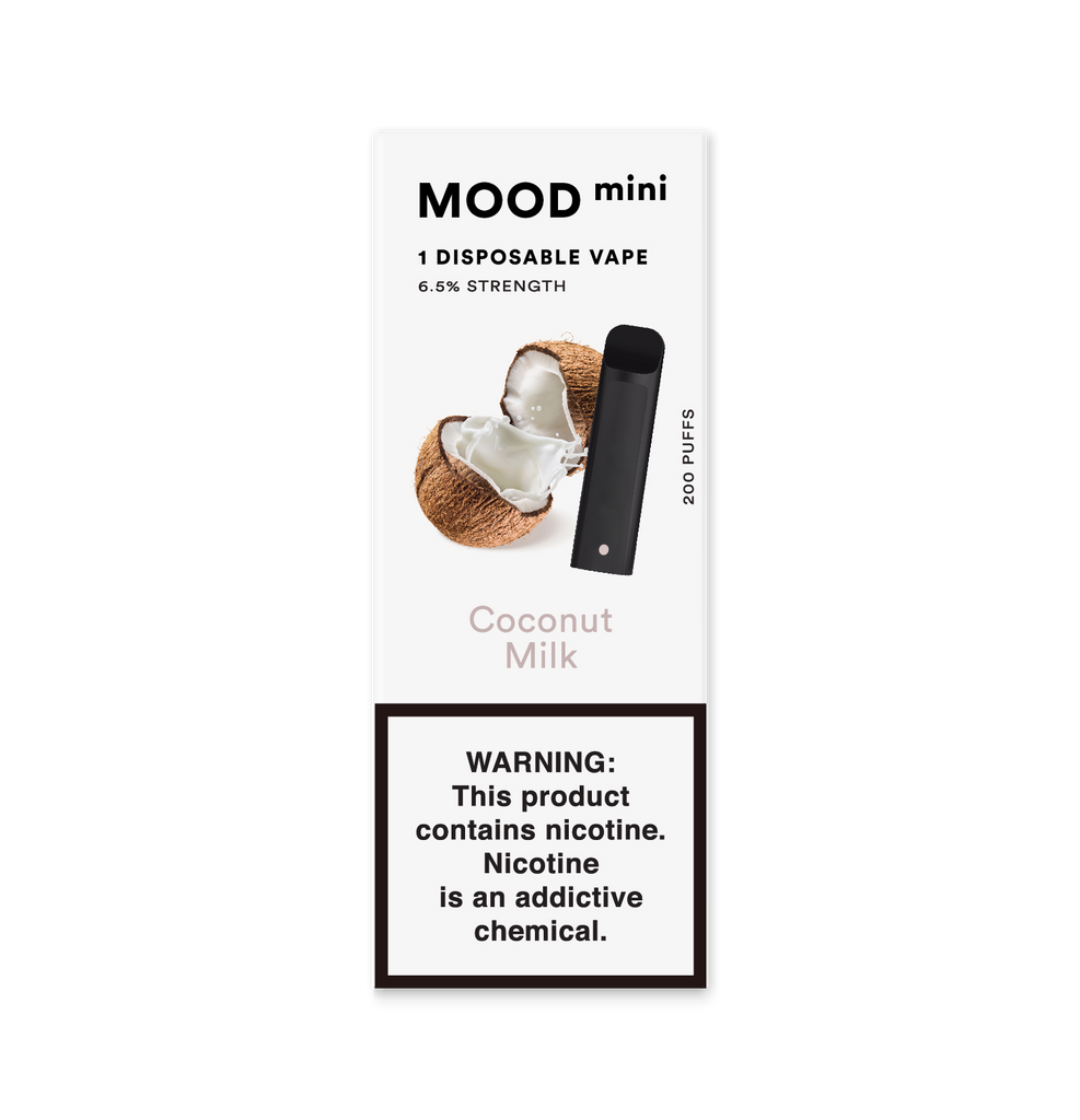 Coconut Milk Mini Disposable Vape Device | MOOD VAPING