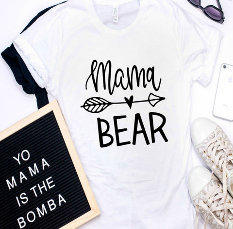 Mama Bear SVG / Momlife SVG