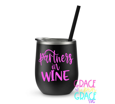 Partners in Wine SVG / Wine SVG