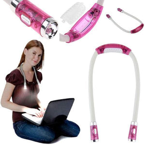 Hundred-change Portable Neck Light
