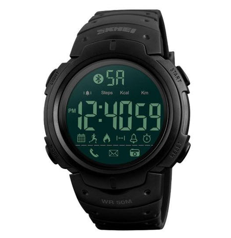 Bluetooth Pedometer Digital Smartwatch for Men & Women