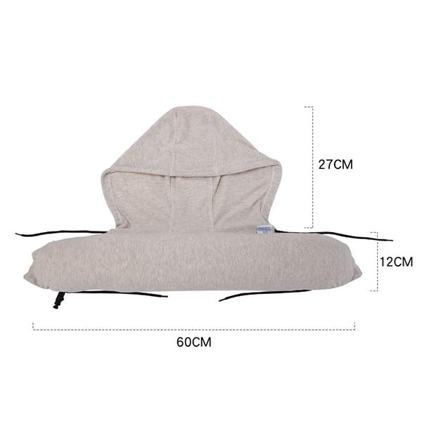 2 In 1 Hoodie Sleeper Travel Pillow