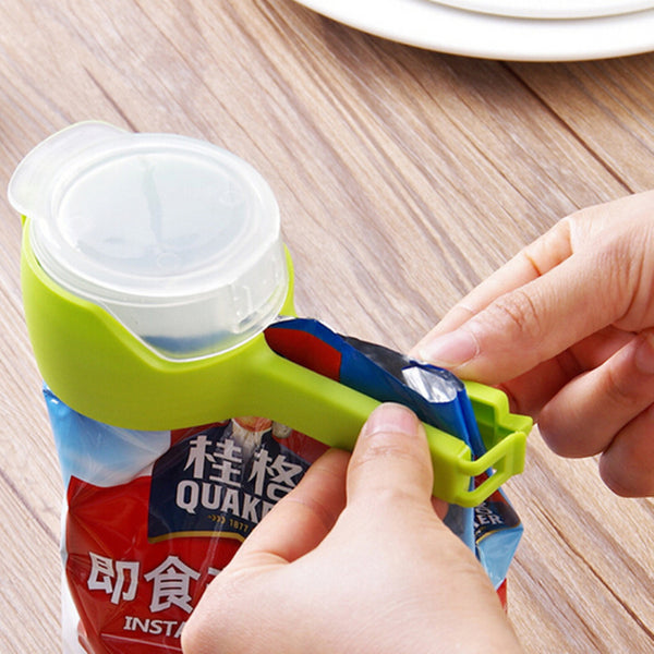 Sealing Pour Food Clip(A set of two)
