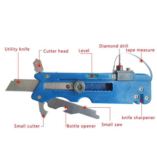 Get 2 Save 6 Dollars | 10-in-1 Multifunctional Glass & Tile Cutter