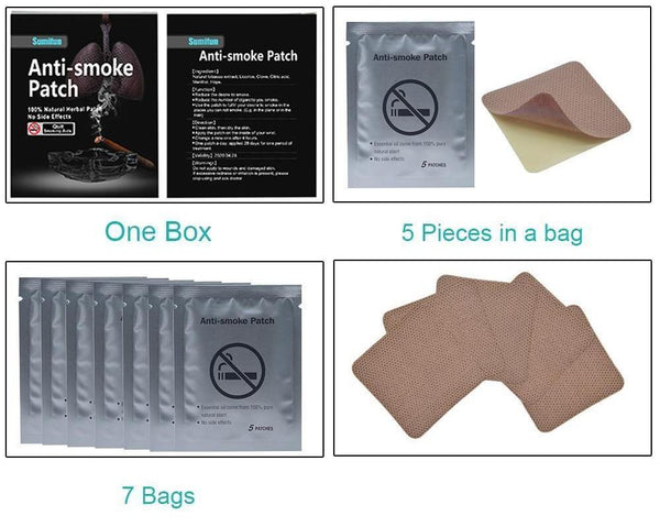 MIRACLE ANTI SMOKING PATCH™ (35 Pack)