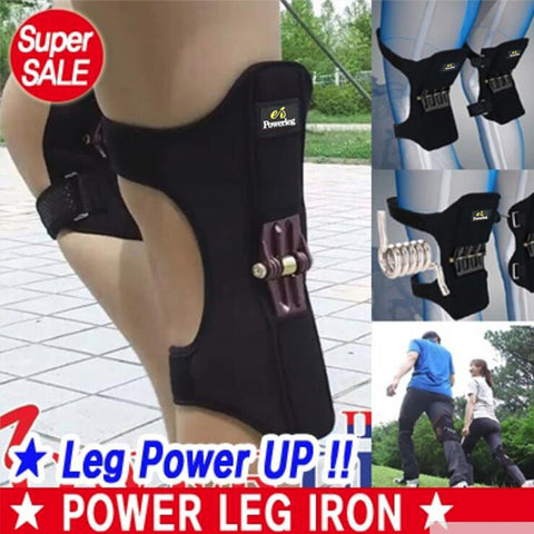 Power Leg Iron Light Knee Guard for Sports and Works and Daily Life