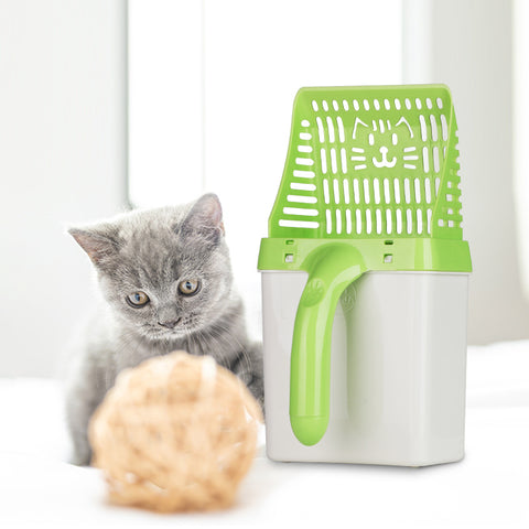 Neater Scooper: A Cat Litter Sifter Scooper Filter System