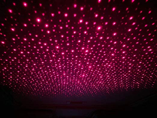 Romantic Auto Roof Star Projector Lights
