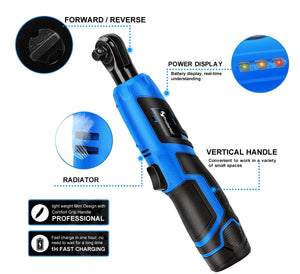 Electric Cordless Ratchet Wrench