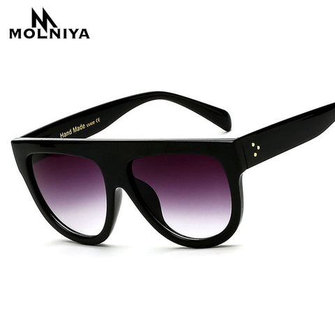 Gradient Lens Full Frame Shades Ladies Sunglasses