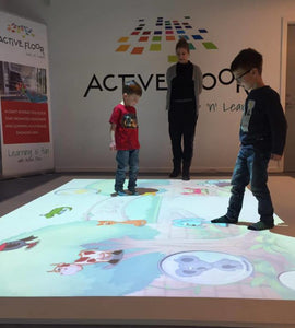 Active Floor - Interaktivt gulv!