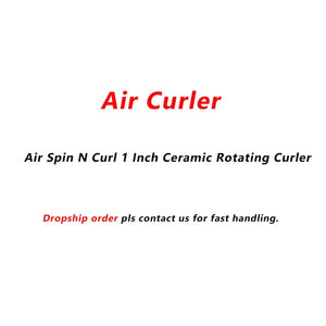 Air Curler, Air Spin N Curl 1 Inch Ceramic Rotating Curler