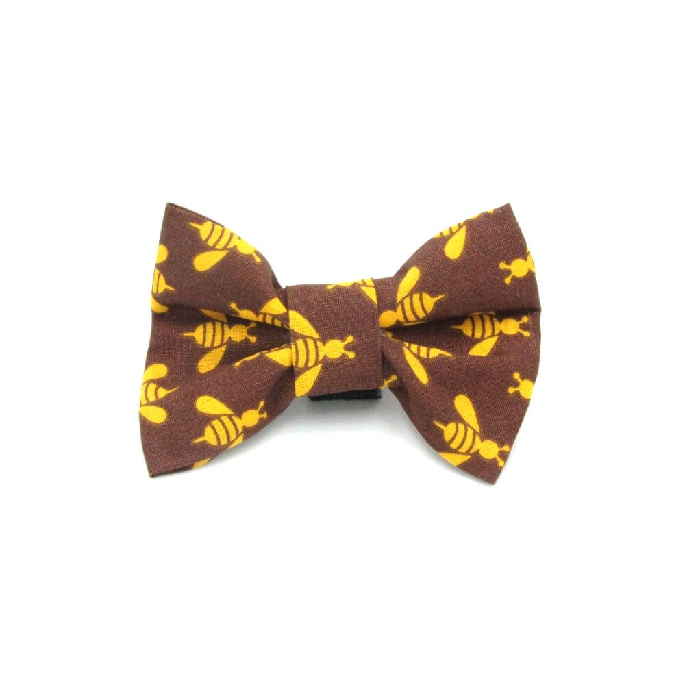 Bee Dog Bow Tie