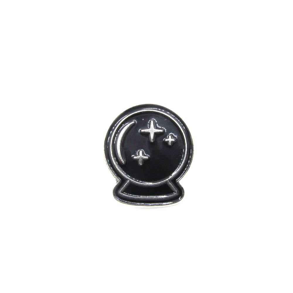 Crystal Ball Pin Badge