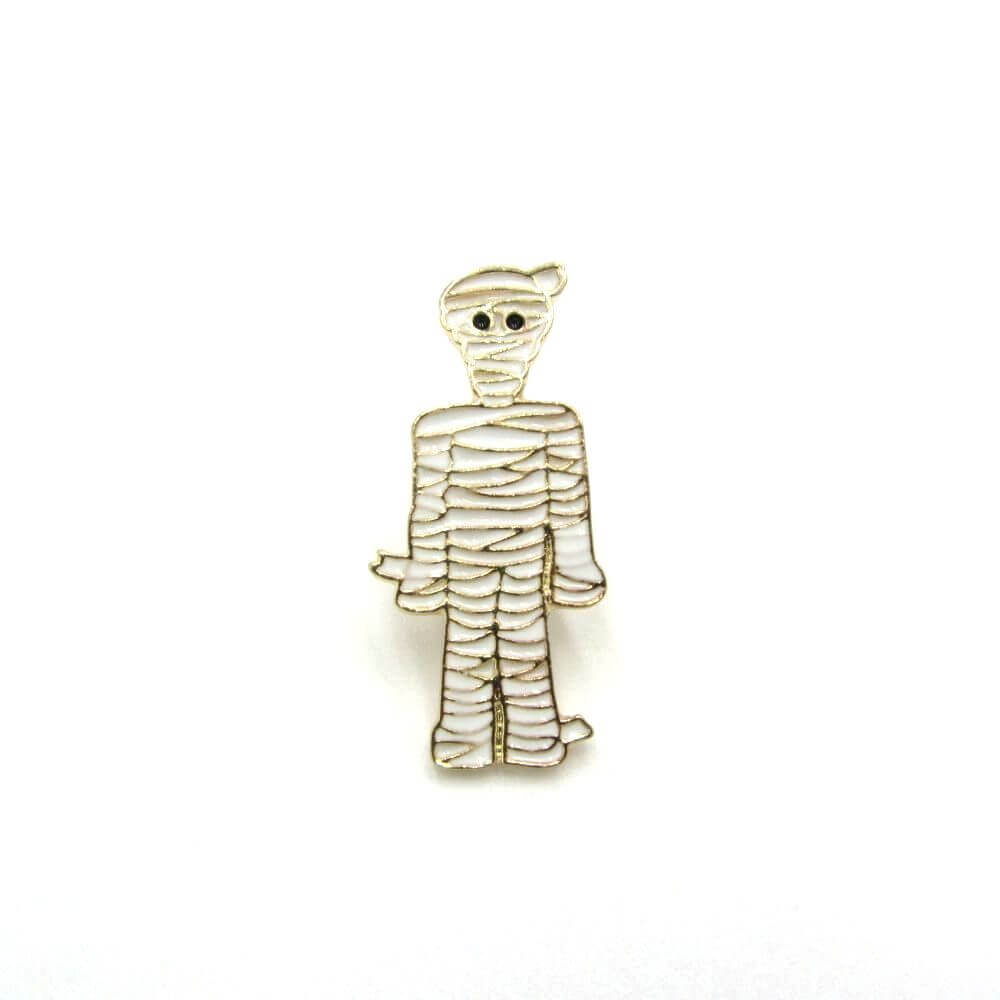 Mummy Pin Badge