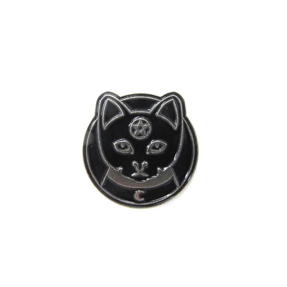Witchess Cat Pin Badge