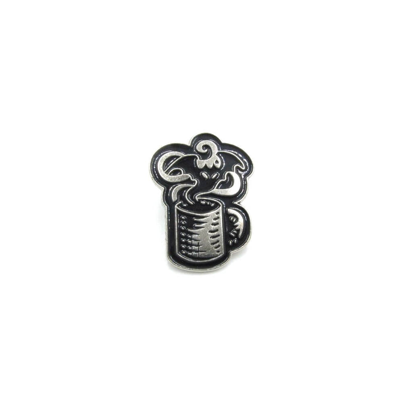 Ghost In A Cup Pin Badge