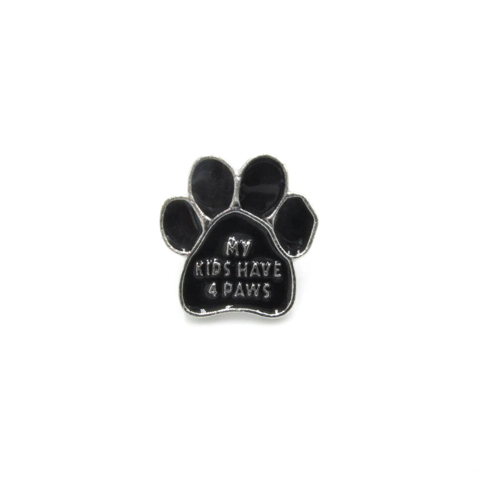 My Kids Have 4 Paws Pin Badge