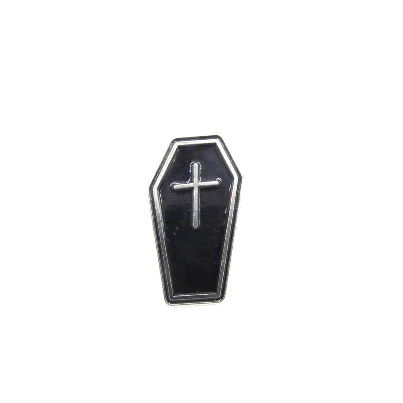 Coffin Pin Badge