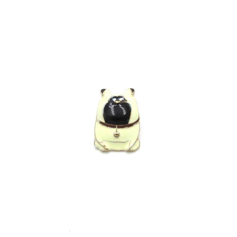 Pug 'Mel' Pin Badge