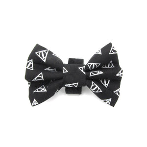 Harry Potter Dog Bow Tie 'Sign of the Deathly Hallows'