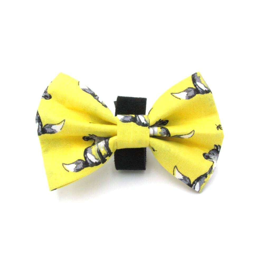 Fox Easter Dog Bow Tie
