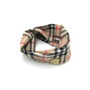 'Furberry' Vintage Check Dog Snood