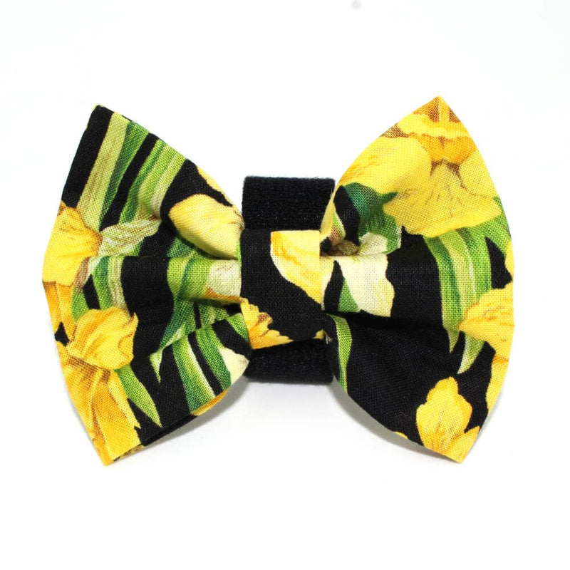 Daffodil Dog Bow Tie Yellow