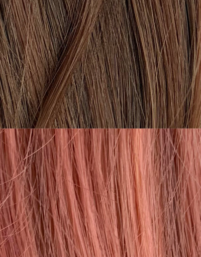 Color:Ombre Brown Pink$