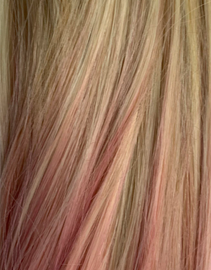 Color:Ombre Light Blonde Pink$
