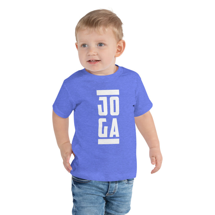 Joga Champion Toddler Short Sleeve Tee - Clube Joga