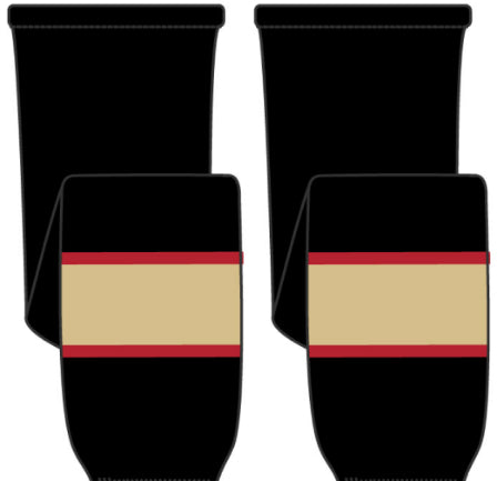 Away Jersey Material Hockey Socks