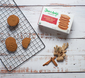 Steve & Andy's ORGANIC GLUTEN-FREE GINGER SNAP COOKIES