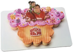 Wreck it Ralph Cake- flat sheet only, cupcakes not available