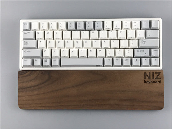 Walnut wood keyboard handle 60 / 82 / 84 / 87 / 108 keys  size customization