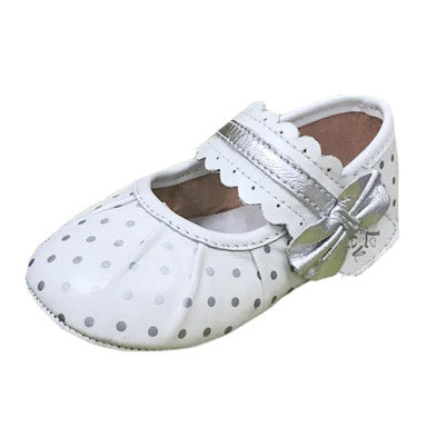 Lovenos 女孩幼兒學行鞋 (銀) Baby Girl shoes (Silver)
