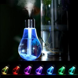 USB Bulb Air Humidifier 7 Colors Lamp Diffuser Humidifiers - Get Yours Here