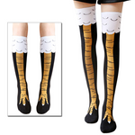 Funny Chicken Legs Socks 3D Chicken feet Knee Socks Novelty Animal Cartoon Sock  Fashion Gifts - Get Yours Here