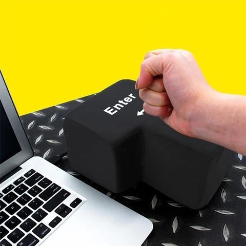Jumbo Enter Key (Stress Buster) - Get Yours Here