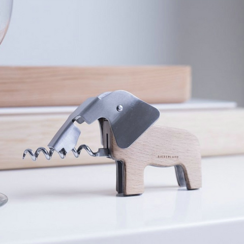 Personalized Wooden Elephant Corkscrew - Get Yours Here