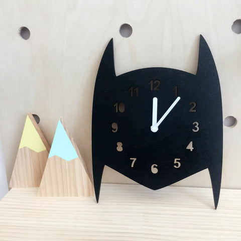 Batman cartoon clock